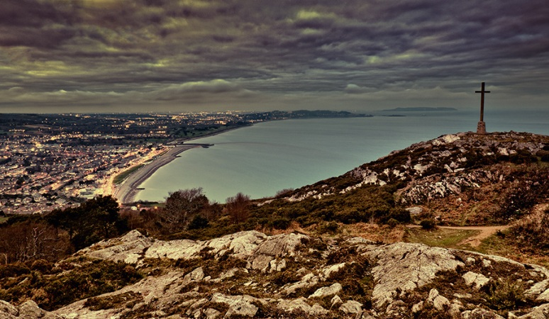 Bray Head Cross in HDR