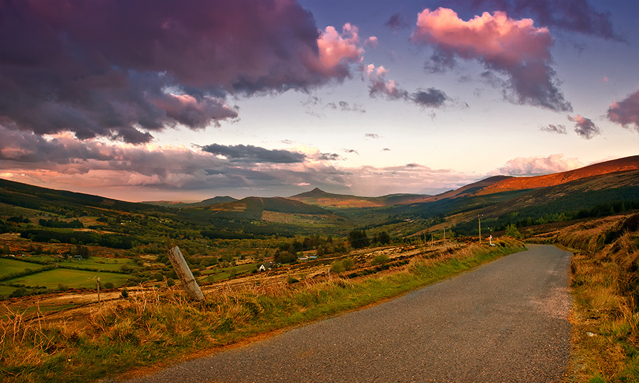 Photo Drive in Wicklow Mnts (1/6)